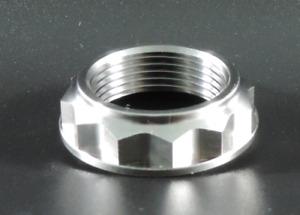 Aprilia RSV4 Titanium Front Axle Spindle Nut Double Hex