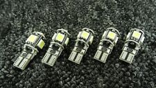 BMW CAR  WHITE LIGHT BULBS LED ERROR HID CANBUS 5 SMD XENON