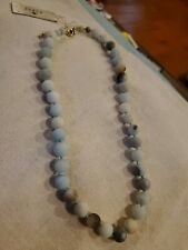 Barse matte bead necklace NWT $28