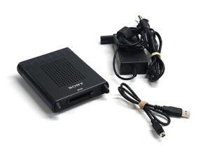 Sony SBAC-US10 SxS USB memory card reader writer Express Card w/ power supply