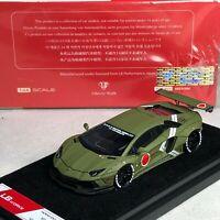 1/64 LB WORKS Lamborghini LP700 Zero Fighter Green Ltd 999 pcs