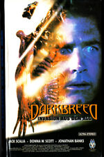 "VHS - FSK 18 - "" DARKBREED - Invasion aus dem All "" (1996) - Jack Scalia"