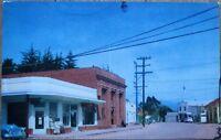 Cambria, CA 1950s Chrome Postcard: Main Street/Downtown - California Cal