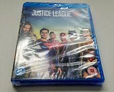 Justice League (3D + 2D Blu-ray, 2 Discs, Region Free) *Brand New/Sealed*