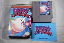 Kirby's Adventure (Nintendo NES) Complete in Box GOOD