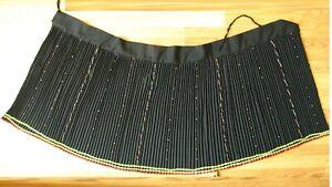 African Zulu Female Wrap around Short Skirt Beaded