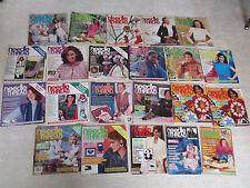 Lot of 22 Needle & Thread Magazines - Sewing & Craft Ideas, OOP Rare VTG 1981-86