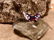 Vintage Brass Butterfly Ring