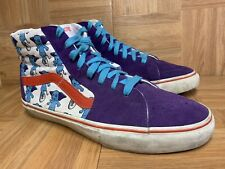 RARE🔥 VANS Sk8-Hi Vault LX Uniphant Sz 10.5 Skateboarding Shoes Purple Red LE
