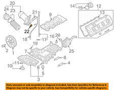 AUDI OEM 04-09 S4 ENGINE-Oil Filter Housing Seal N90959701
