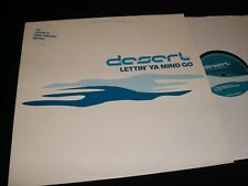 """DESERT<>LETTIN' YA MIND GO.<>12""""  Vinyl~UK. Pressing<>FUTURE GROOVE 12FGR017R"""