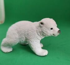 Schleich Tiere Figuren Sammlungsauflösung (Nr.056) Eisbär 6x4cm