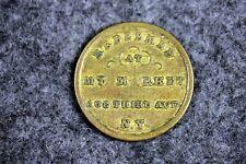 New York City Ph.J.Seiter's Mkt. Civil War Store Card Token Ny 630/02! #J10949
