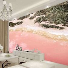 Beautiful Pink Beach Full Wall Mural Photo Wallpaper Printing 3D Decor Kid Home