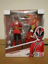 SH Figuarts Shinkenger Shinken Red Kaoru Shiba Power Rangers Samurai