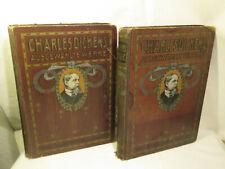 Charles Dickens Ausgewählte Werke  Illustriert  Hansa Verlag Erstausgabe um 1900