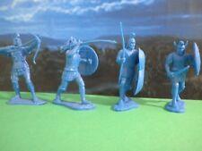 War Troy  Soldatini TROIANI Greci Guerra di Troia Figurini 7 cm Raro da Lod /CA/