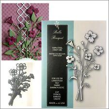 Bella Bouquet metal die - Memory Box cutting dies 99472 flowers leaves