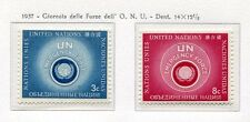 19021) UNITED NATIONS (New York) 1957 MNH** Nuovi** Int. UN Emergency forces