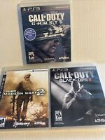 Ps3 Call of duty /modern warfare 2/Ghost /Black Ops bundle