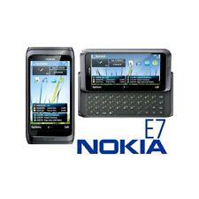 TELEFONO CELLULARE NOKIA E7 GRIGIO 3G WIFI HDMI TASTIERA QWERTY TOP QUALITY-