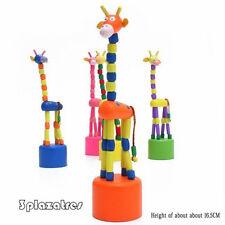 Beliebtesten Holz Knöchel Spielzeug Tanz Giraffe Puppe Hot Rock Giraffe WXD