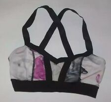 LULULEMON HOT CLASS BRA UNICORN TEARS YOGA PILATES RUNNING SPIN DANCE GYM sz 4