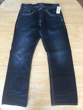 Men's Silver Loose Fit Jeans - Gordie  33/32  NWT