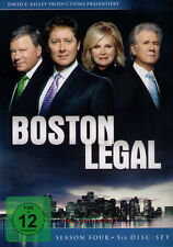 Boston Legal | Staffel 4 | 5-DVD-Set NEU