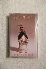 TODD RUNDGREN - 2nd Wind - CASSETTE WARNER Sealed NEW - 1991 Rock Art Rock