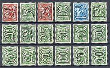 NEDERLAND 1940 # 356/373     KW € 210    ** PF   PR EX