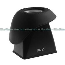 """V3 2.8X 3.0"""" 3:2 LCD Viewfinder Magnifier Eyecup Extender for Canon 600D 60D T3i"""