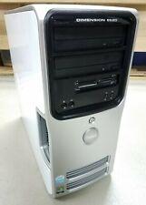 Dell Dimension E520 Desktop Computer 2.8Ghz 2Gb 250Gb Windows Xp Professional