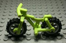 Lego Figur Zubehör Fahrrad Mountain Bike lime Hellgrün                     (860)
