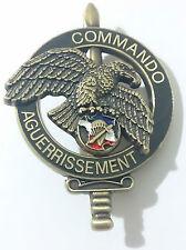 COMMANDO AGUERRISSEMENT  CNEC C.N.E.C Centre National d'Entraînement Commando
