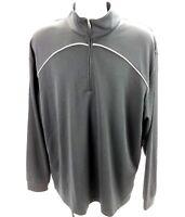 Bolle Golf Mens XL 1/4 Zip Pullover Sweatshirt Black LS Base Layer Thermal