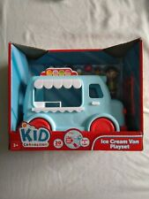 Ice Cream Van Playset With Lights & Sounds