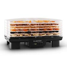Kitchen Meat Fruit Dehydrator By Klarstein 550W 6 Tier Food Dryer Small Machine