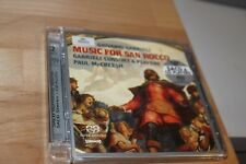 Giovanni Gabrieli: Music for San Rocco Gabrieli Consort & Players SACD  MINT