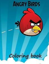 Angry Birds coloring book: A great A4 57 page coloring book for kids 3+ on Angry