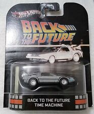 Hot Wheels 2012 Retro Entertainment Back To The Future Time Machine