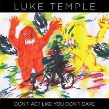 LUKE TEMPLE - DON'T ACT LIKE YOU DON'T CARE  LP VINYL NEW+