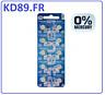 10  x  Renata 364 Pile bouton 364 oxyde d'argent 1.55 V 19 mAh sr621sw
