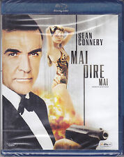 Blu-ray **007 ♦ MAI DIRE MAI** nuovo 1983