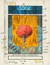 DOOM PATROL #34 Pg1 Jul '90 Original DC Hand-Painted Comic Art, TV Series