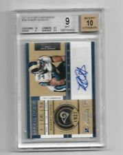 2011 PLAYOFF CONTENDERS ROBERT QUINN BGS 10-9-8.5-9.5 AUTO 10 ROOKIE RC