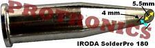 SOLDERING TIP - 4mm Angle - IRODA SolderPro 180, 180K Gas Solder Iron