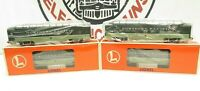 LIONEL 6-19166 Northern Pacific Aluminum Painted Passenger Set of 4 Cars NIB