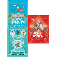Royal Rabbits London 3 Books Children Collection Paperback By - Santa Montefiore