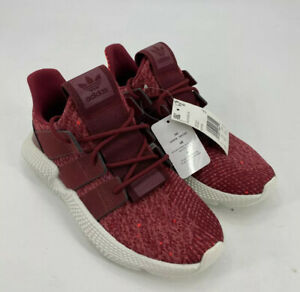 Adidas Originals Womens Prophere W Maroon White Sneakers Sz 7.5